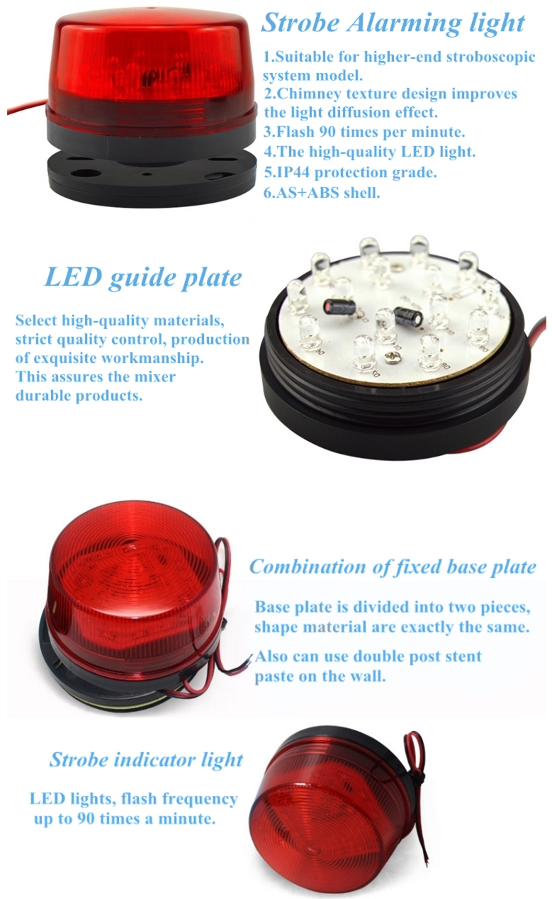 EB-169,strobe light,12v strobe light, 12v electric strobe light