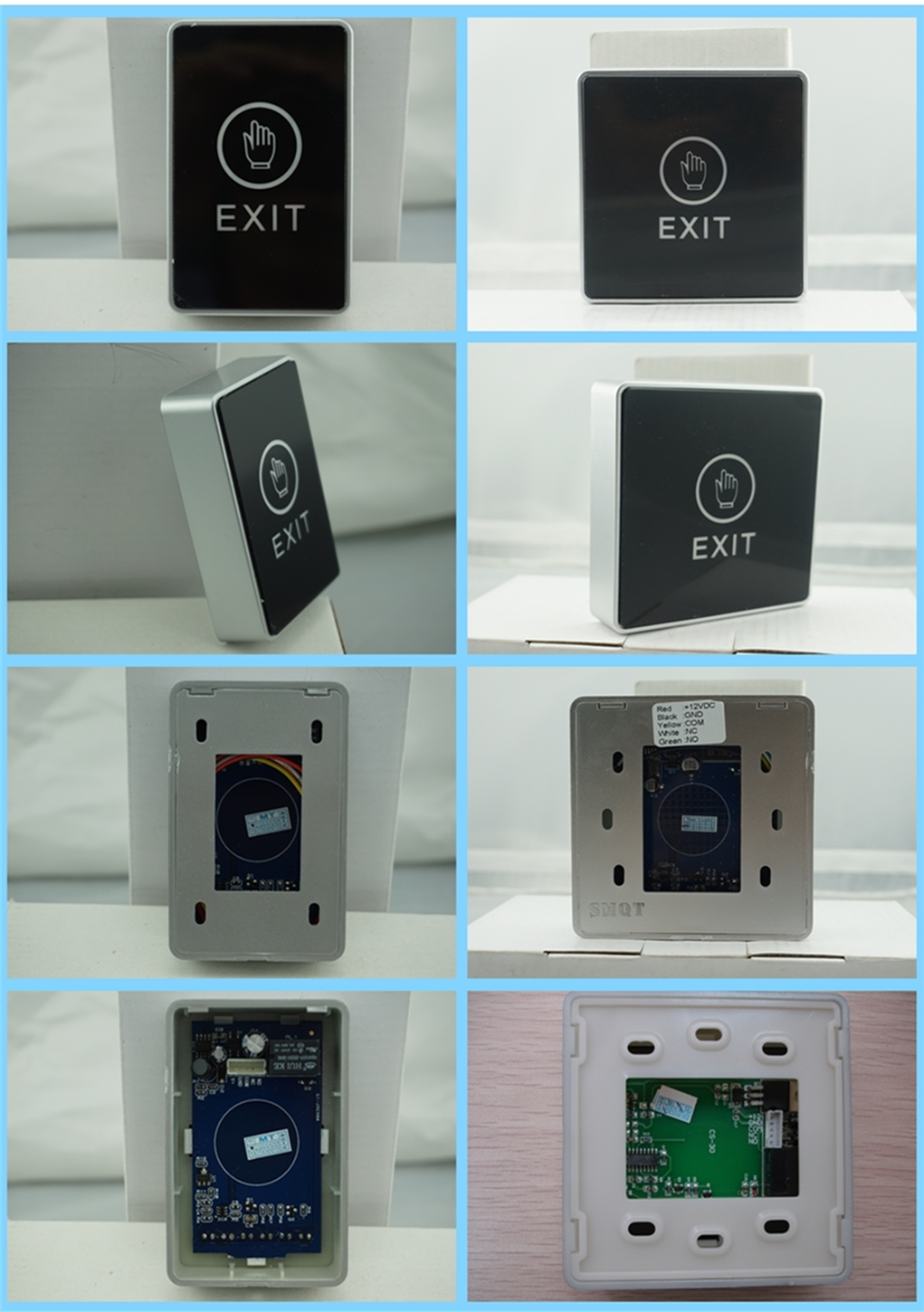 LED back light door switch button