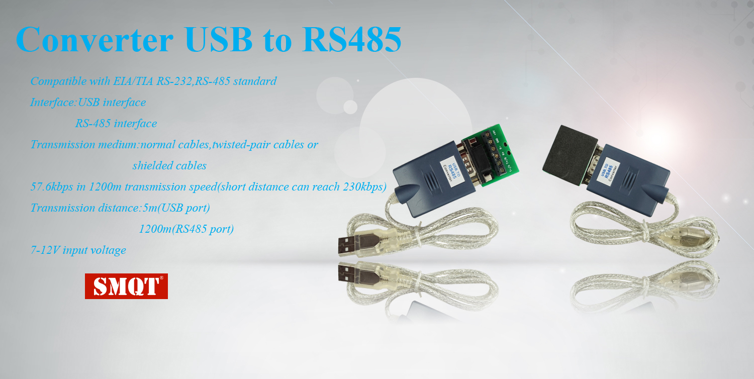 Data transmission converter USB to RS485 EA-02