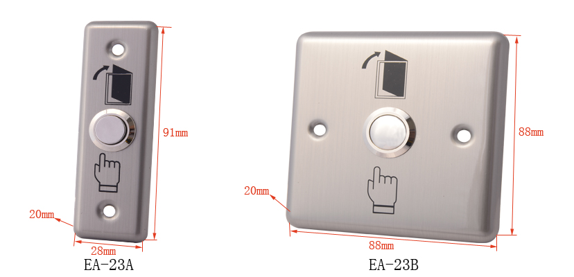 EA-23A/B Door Release Button(stainless steel),door release buton,button,exit button