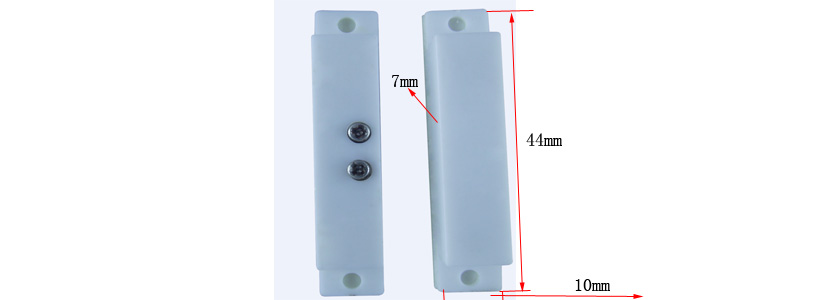 EB-140 Magnetic contact, Door sensor, window, switch, reed,tamper switch Fire retardant ABS housing with double sided tape door sensor switch normally closed magnetic switch