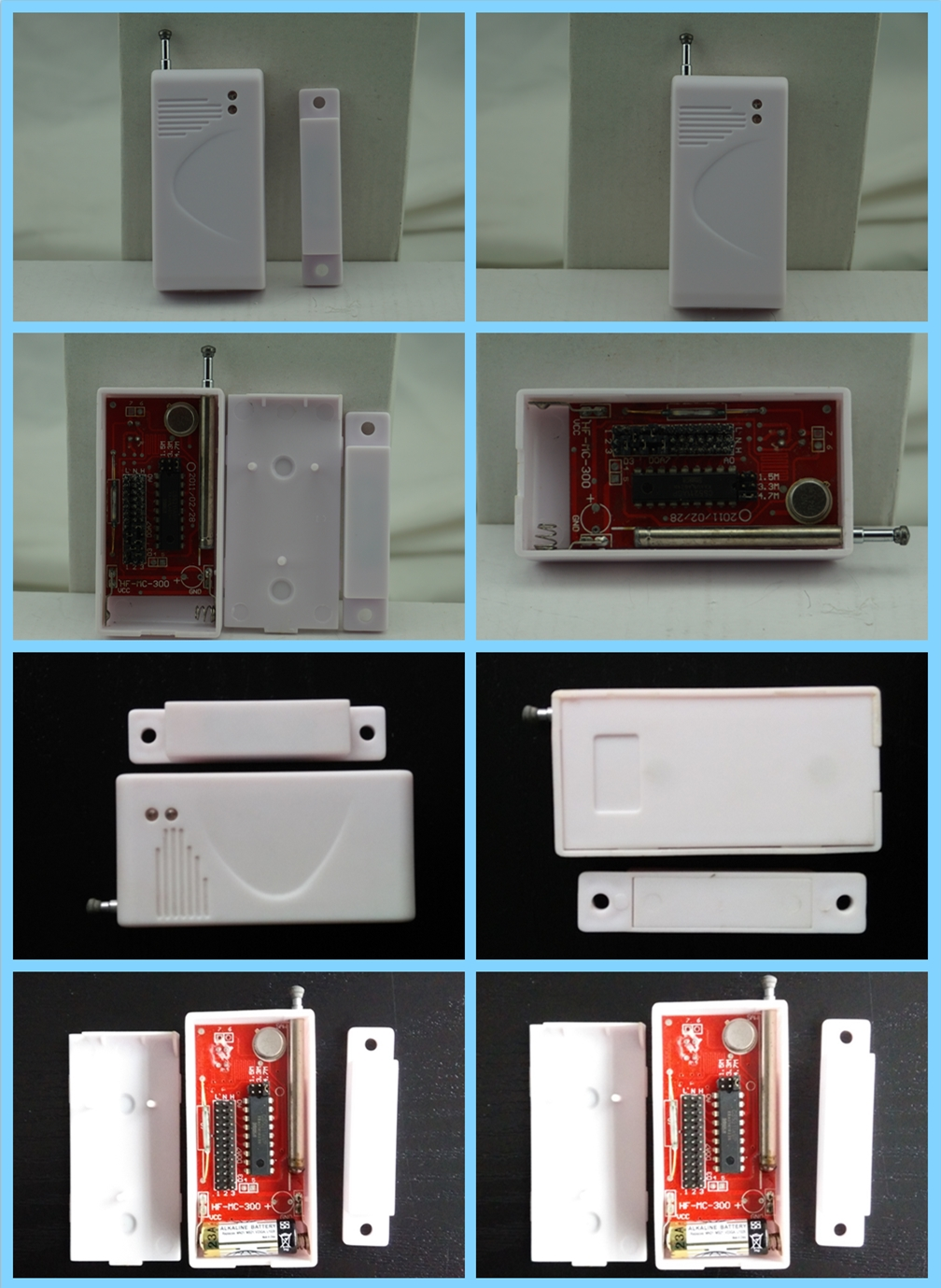 wireless door sensor,wireless magnetic door sensor,Door switch sensor