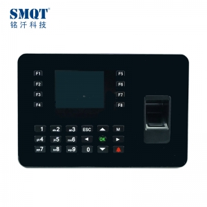 3 Inch TFT display  biometric fingerprint and card time attendance and access control machine