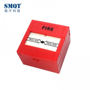 30v DC Red/ Green auto-reset fire alarm call point