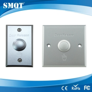 Aluminum panel door release/switch button