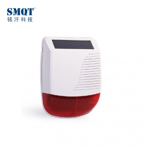 Beautiful Outdoor Wireless Siren Strobe, sirène solaire