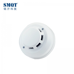 CE&RoHS 12V/24V/9-35V 4 wire conventional photoelectric smoke detector
