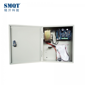 Door over current short-protect security access control power supply