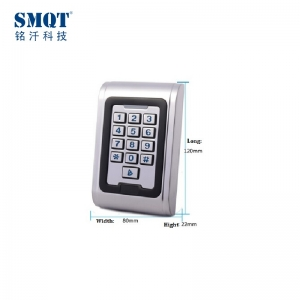 EM 125Khz/13.56Mhz rfid digital access control keypad for apartment