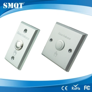 Exit button for door access control system
