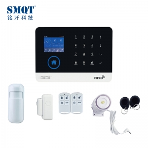 GSM WIFI Andorid/IOS App Wireless Home burglar Alarming kit EB-821