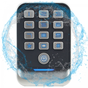 IP67 Waterproof Metal Keypad Access Control/Wiegand Reader for Single Door