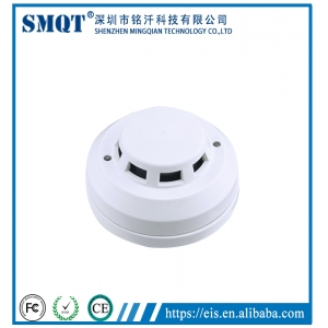 LED Indicative & Photoelectric Optical Smoke Detector For fire alarm EB-117