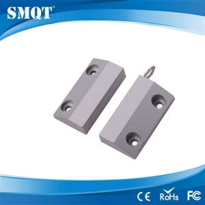 Metal wired door sensor for alarm system and access control system
