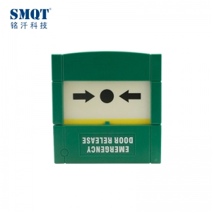 Red/ Green auto-reset fire manual call point for fire alarm