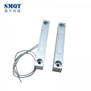 Silver alloy-zn magnetic contact with NO/NC code mode