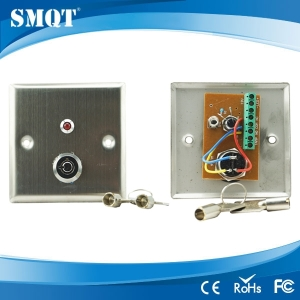 Stainless Panic button with key for door