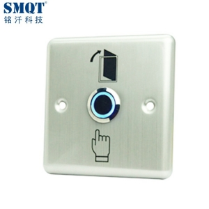 Stainless steel LED Indication Open door push button