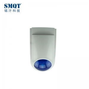 Waterproof Strobe Siren alarm ,flashlight siren