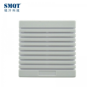 White ABS material 12V DC alarm electric siren 116db