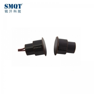 White/ Brown automatic magnetic contact for alarm system