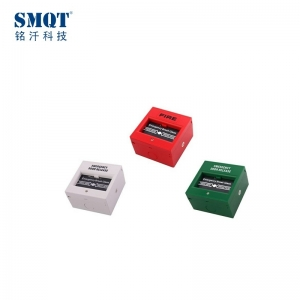 break glass fire emergency button for security alarm