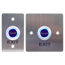 China 2020 SMQT Door release infrared touch to exit button access control push switch button factory
