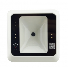 China 2020 SMQT new QR Code&RFID 13.56Mhz Card reader for access control system factory