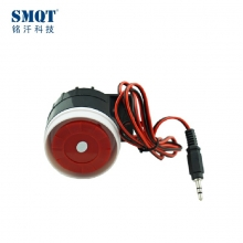 China ABS material 12V DC alarm electric siren 115db factory