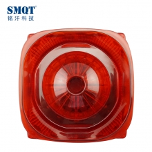 China Fire strobe light sounder alarm siren 105db,high db siren,outdoor strobe siren factory