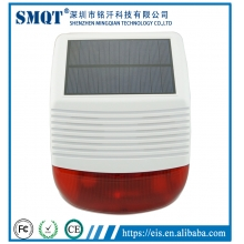 China Home Anti-burglar Alarm security System Wireless Solar GSM Strobe light Siren kit EB-882 factory
