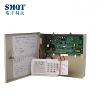 China LED 8 wired 16 wireless PSTN&GSM alarm panel box,alarm for home factory