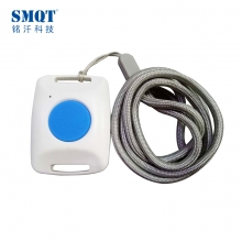 China Neak Wear Type Wireless SOS Call Emergency/Panic Push Button For Old people&Kids factory