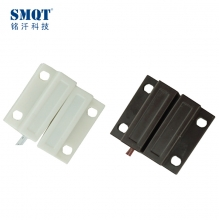 China Plastic magnetic contact switch sensor for alarm and access control system factory
