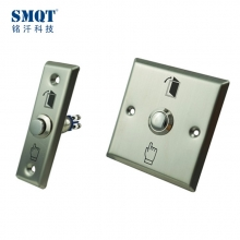 China Stainless steel Switch Push button for Mini door/Hollow door in access control factory