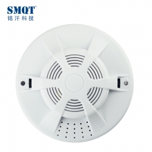 China Standalone photoelectric cigarette smoke detector conformed EN14604 standard factory