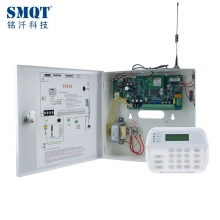 Tsina TCP / IP + GPRS + GSM + PSTN 8 Wired at 30 Wireless Home Security Alarm System factory