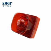 China Waterproof outdoor fire alarm strobe  siren 12VDC factory