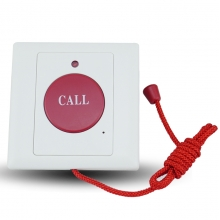 China Wired emergency press call button with pulling rope switch button factory