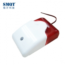 China Wired strobe siren with blue or red color optional factory