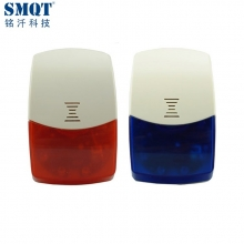 China Wireless Strobe Siren Alarm Flash Light Siren With Builtin Backup Battery factory