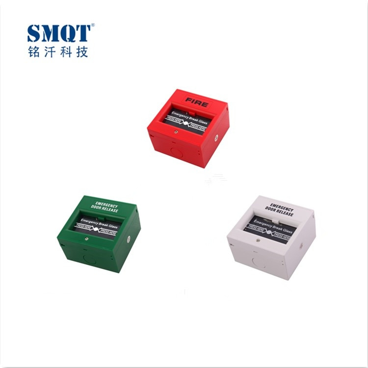 ABS fireproof break glass fire alarm push button for safety door/escape door ...  sc 1 st  Professional Responsible Security Products Supplier in China & Alarm Accessories