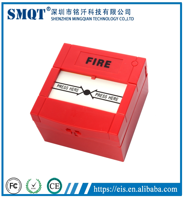 Auto Reset Emergency Fire Alarm Panic Button In Home