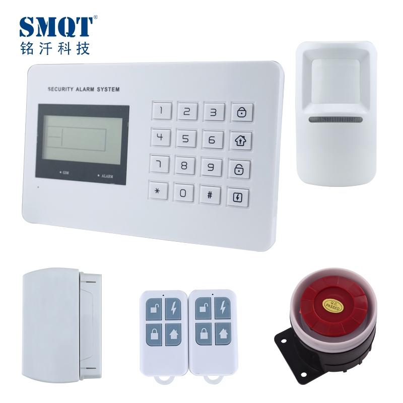 Gsm Pstn Voice Wireless Home Alarm System