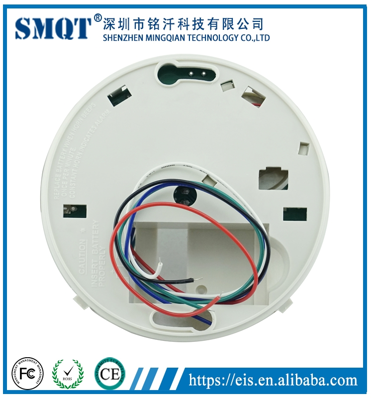Heat detector wired heat detector temperature heat detector fire alarm system accessories wired temperature change detecting heat detector eb 118 sciox Gallery