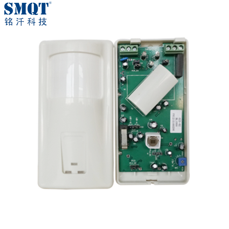 Indoor Wall Mounted Infrared Microwave Function Pir Motion Sensor