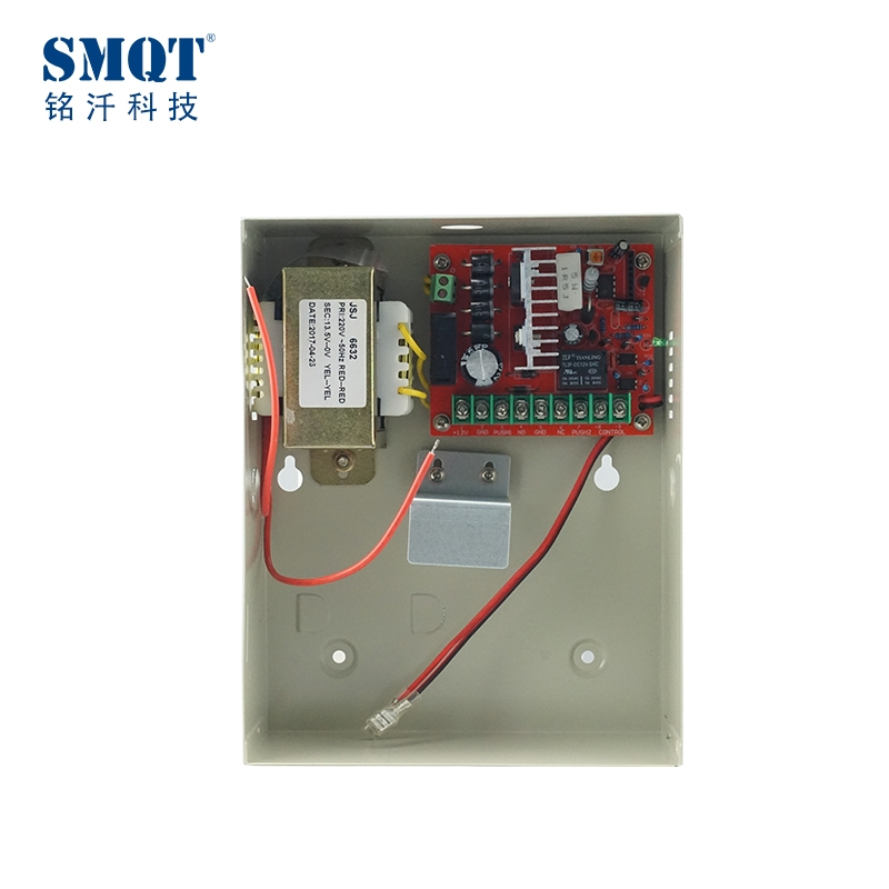 Metal Box DC 12V 3A/5A Linear Power Supply Can Built In Battery