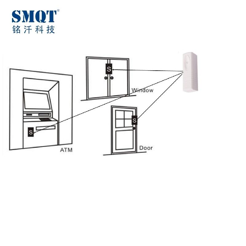 alarma con sensor de vibraci u00f3n blanco con cable