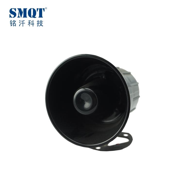 fireproof home alarm black or white alarm siren 115db