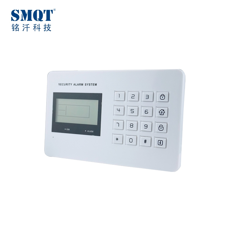 small 99 wireless and wired gsm alarm kits,alarm panel,alarm system